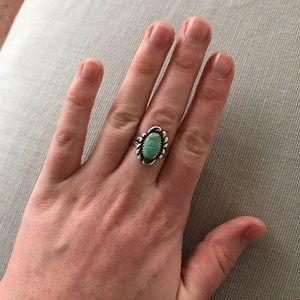 Turquoise Stone Ring 🌿